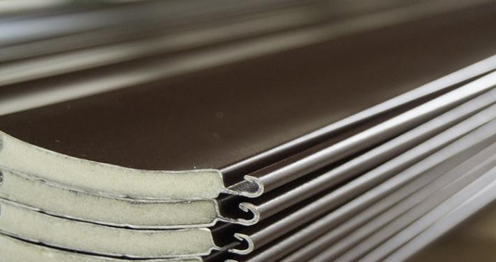 Dettaglio doghe tapparelle in alluminio