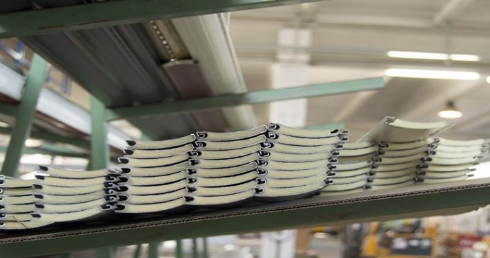 Bancale doghe tapparelle in alluminio